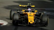 Motor racing - Renault's Palmer out of Baku qualifying