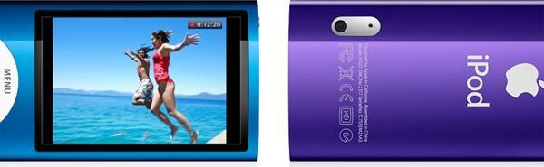 Apple adds video camera, larger screen to new 5G iPod nano