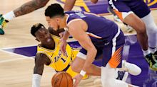 Phoenix Suns reach second in the west with NBA victory over LA Lakers