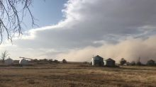 Massive dust storm captured on camera near Granada, Colorado