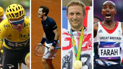 In pictures: The most successful British sportsmen EVER