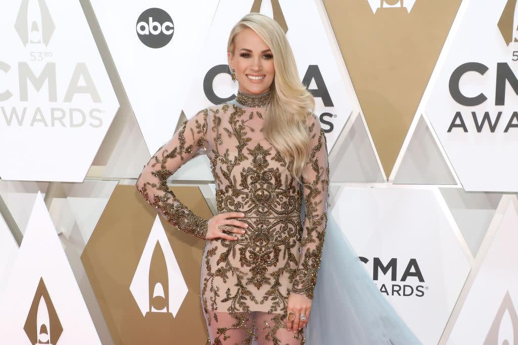 Carrie Underwood says she won't host the CMA Awards again