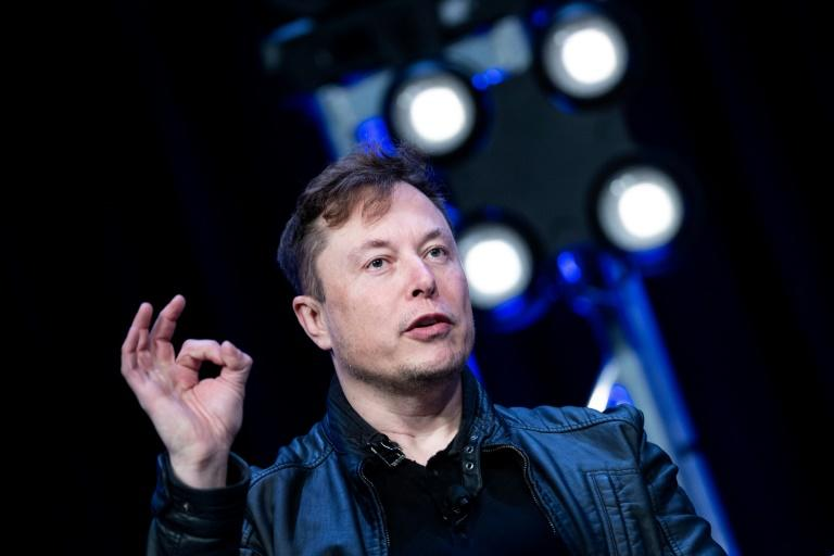 Tesla founder Elon Musk found a playful way to ruthlessly mock investors who are skeptical about the carmaker, now the most valuable in the world (AFP Photo/Brendan Smialowski)