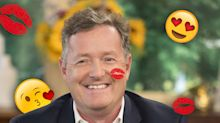 Piers Morgan reckons loads of people want to kiss him