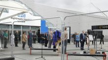 New 4,000-bed coronavirus field hospital opens in London