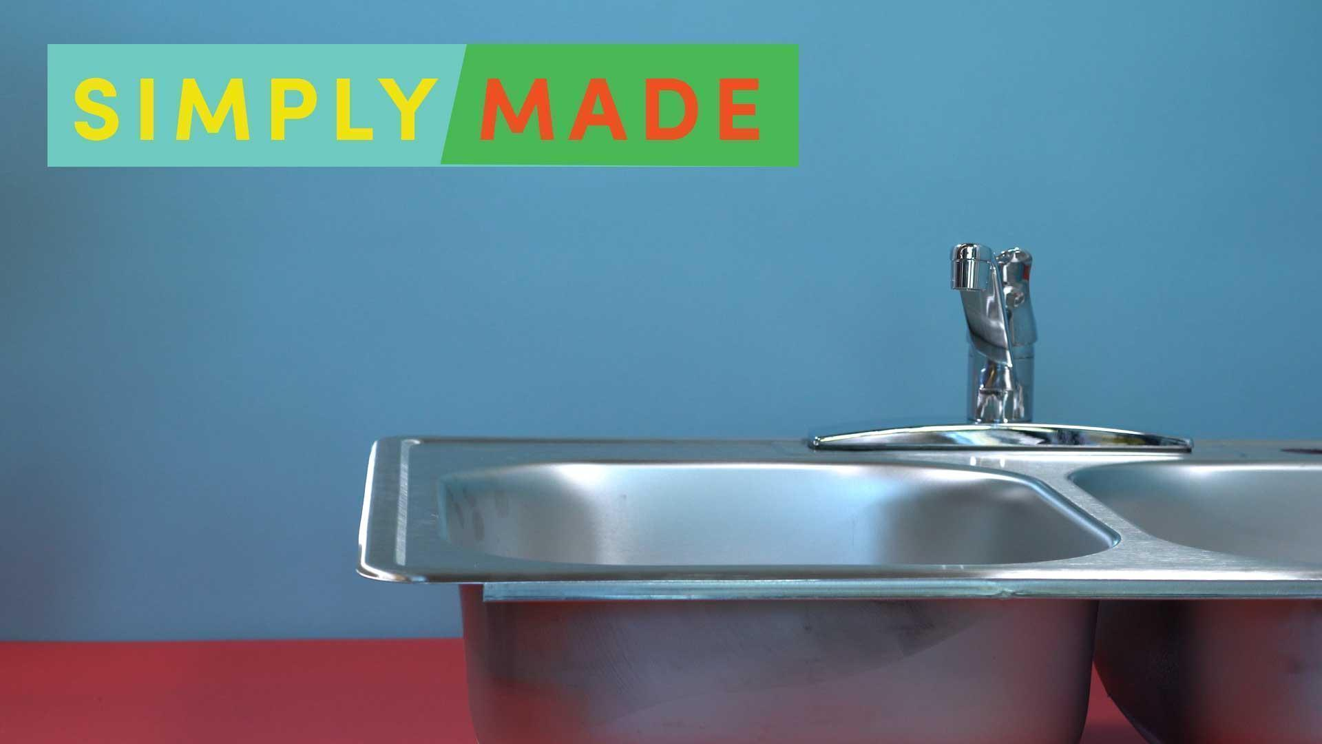Ditch the Drano! 2-Ingredient DIY Sink Declogger [Video]