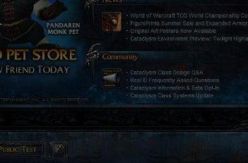 Cataclysm brings new launcher and patch process