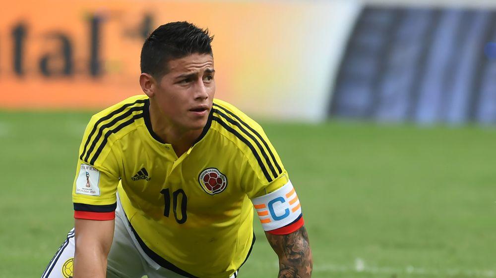 Medien: Real-Star James legt sich mit kolumbianischen Journalisten an
