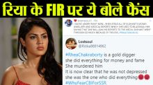 Sushant Singh Rajput's fans reacts on Rhea Chakraborty's FIR