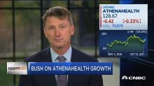 Watch CNBC's full interview with Athenahealth CEO Jonatha...