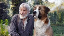 Watch Harrison Ford meet his CGI canine co-star in a clip from 'The Call of the Wild' (exclusive)