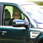 Prince Philip spotted driving without seat belt two days after car accident