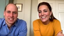 Duke and Duchess of Cambridge joke with teachers and pupils in first virtual royal visit