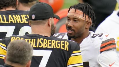 Garrett reveals topic of pre-game talk with Tomlin