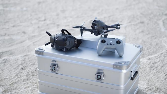 DJI officially unveils its cinematic FPV drone