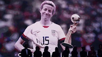 Rapinoe named SI's Sportsperson of the Year