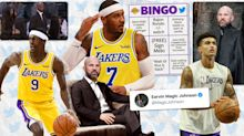 It's time for Lakers Twitter Bingo