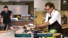 Tous en cuisine en direct avec Cyril Lignac: les internautes amusés par un tic verbal du chef de M6