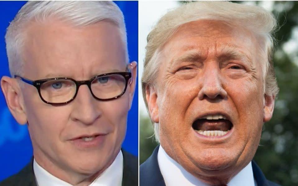 Bonkers New Trump Audio Stuns Anderson Cooper: Sounds Like 'Nixon Drunk Rambling'