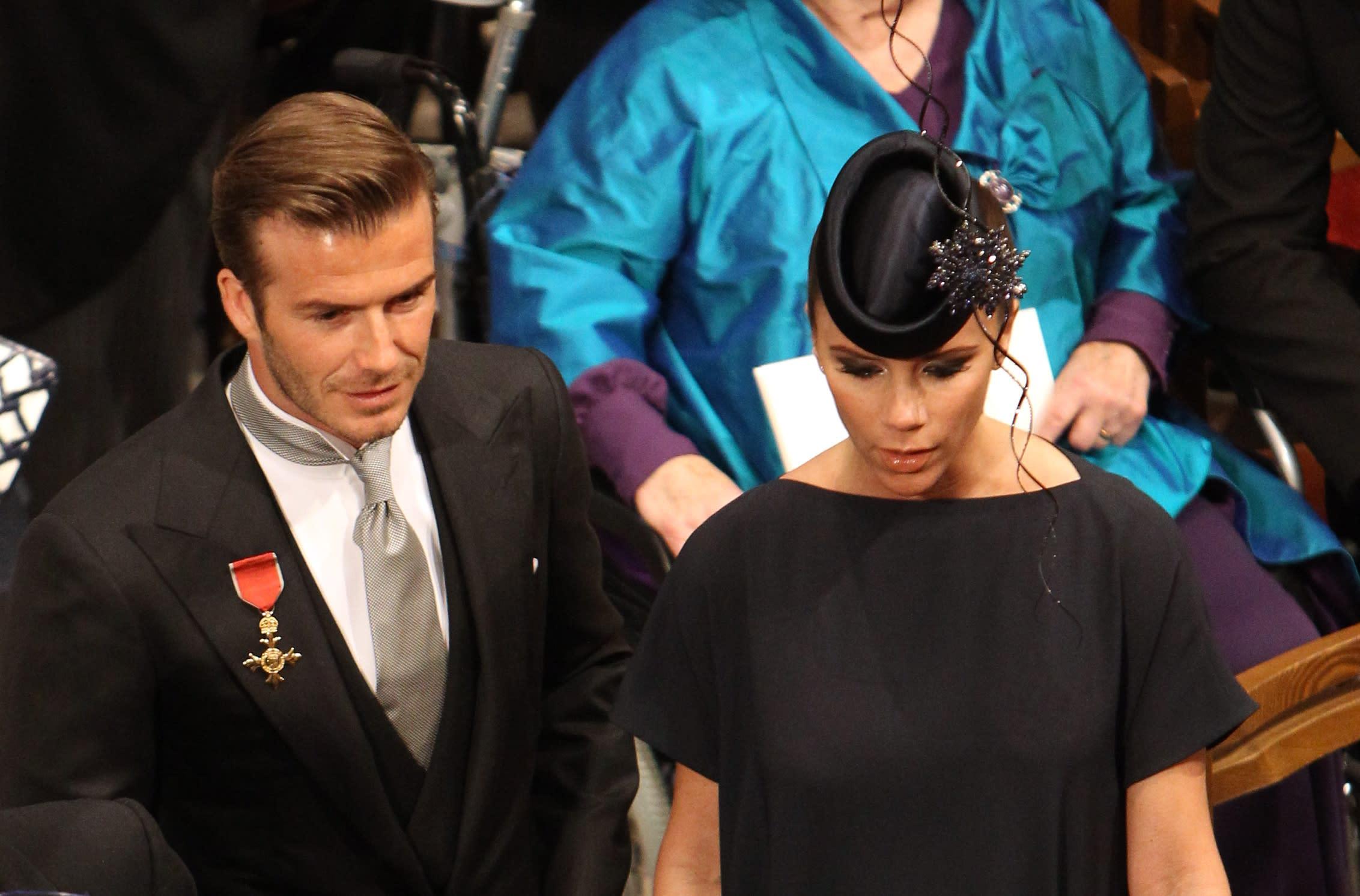 Victoria Beckham And David Beckham Just Graced The Royal Wedding
