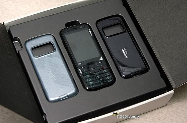Black Nokia N79 would be invisible, awesome in the dark