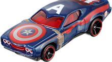 Here's YourFirst Look at 'Captain America: Civil War' Hot Wheels Cars