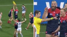 Melbourne coach's frank admission over 'staggering' free kick