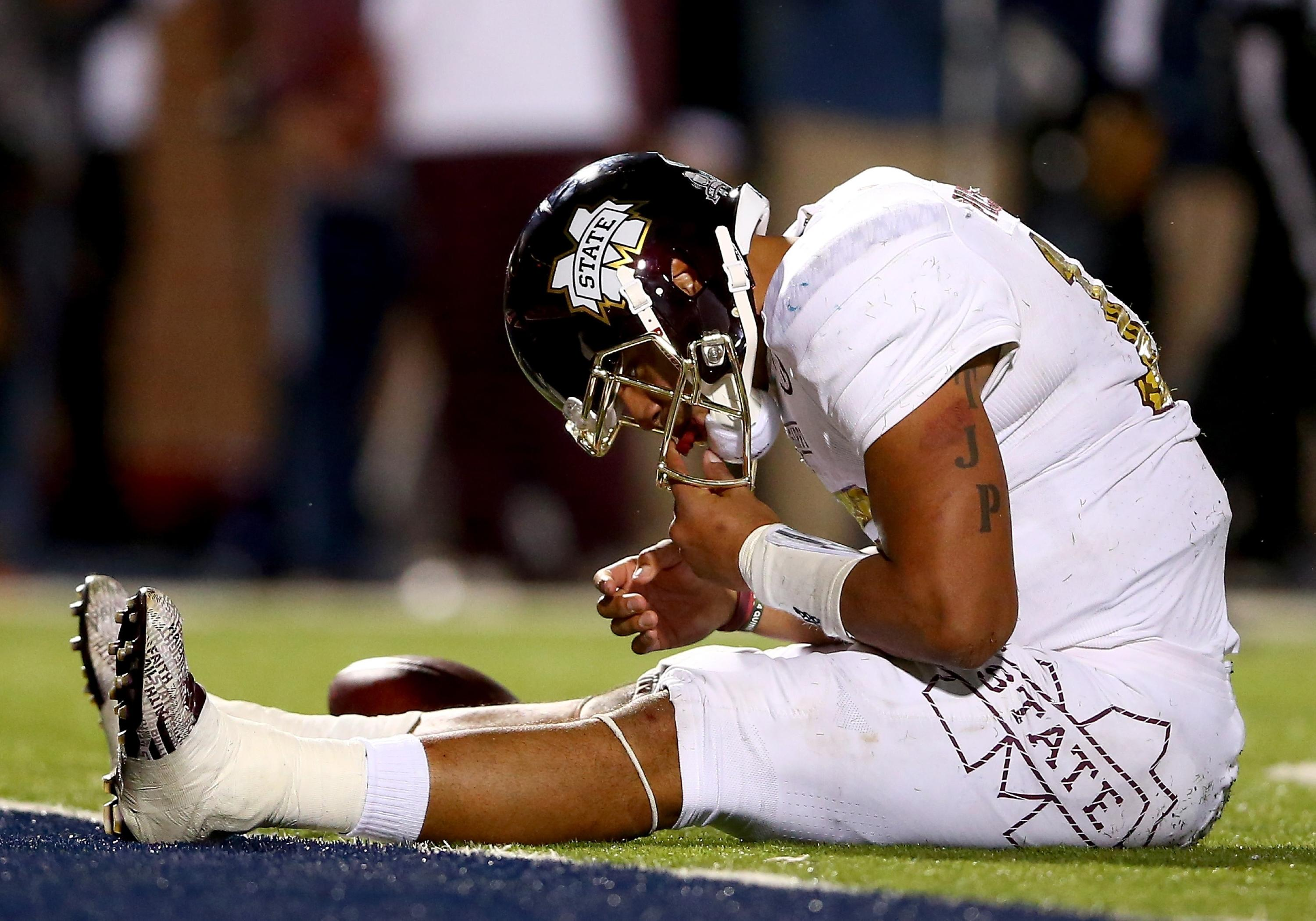 Mississippi State s fairy tale run ends in thud as rival Ole Miss plays  spoiler role 234b82bfc