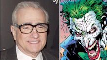 The Joker origin story in the pipeline from Martin Scorsese