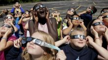 Viewing past solar eclipses