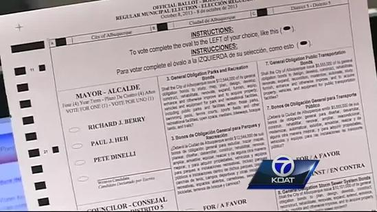 Be prepared to show your photo ID at Albuquerque city elections