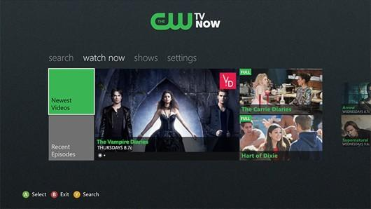 CW app lets you watch Vampire Diaries, Arrow on Xbox 360