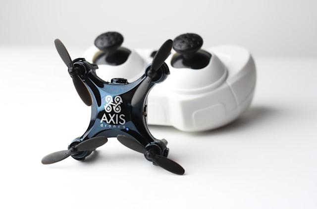 Meet the world's smallest camera-equipped drone