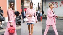 秋冬並非深色衣物代名詞,只要你喜歡天天都可以穿 Millennial Pink 大衣