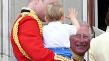 'A beautiful photo': Previously unseen image of Prince Charles hugging Louis a hit with fans