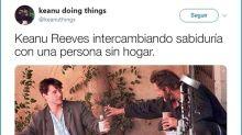 """La cuenta de Twitter que no te puedes perder: """"Keanu Reeves hace cosas"""""""
