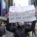 Protests in Hong Kong as U.S. warns of sanctions