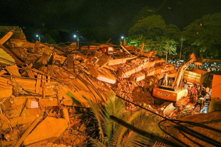 Tragedy: At least 70 feared trapped in India building collapse