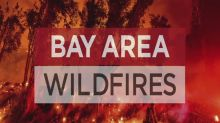Bay Area Wildfire Update: Wildfires burn overnight, crime against firefighter, lightning threat returns