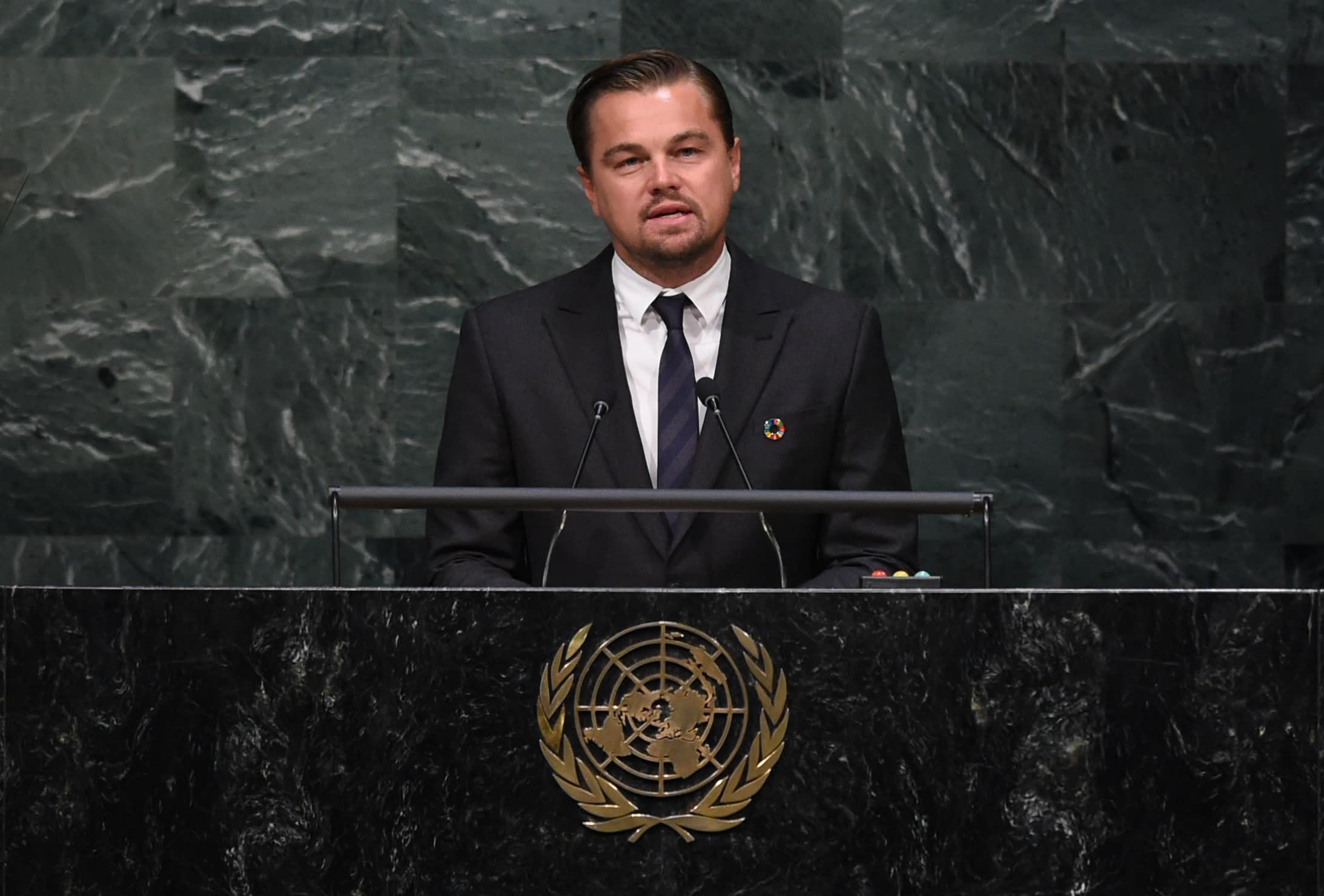 Leonardo DiCaprio Has a New Job: Advising a Climate Tech Fund