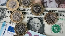 Sterling slips back against dollar after reaching Brexit vote high