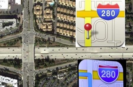 No Comment: iOS 6 Maps icon not to be taken as literal routing advice