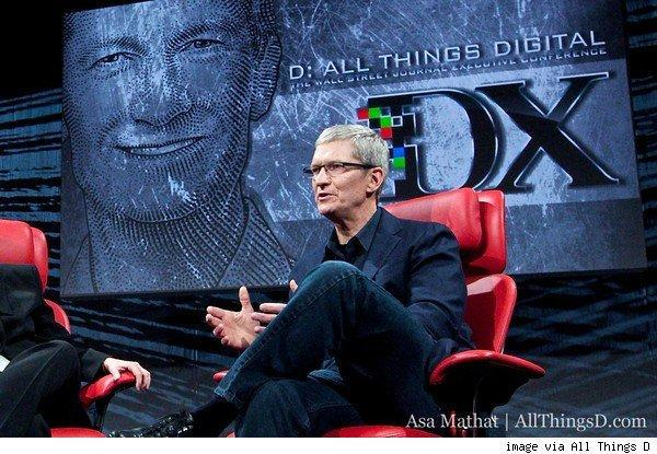 Tim Cook to speak at All Things D conference tonight