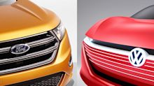 Ford et Volkswagen unissent leurs forces et créent une alliance