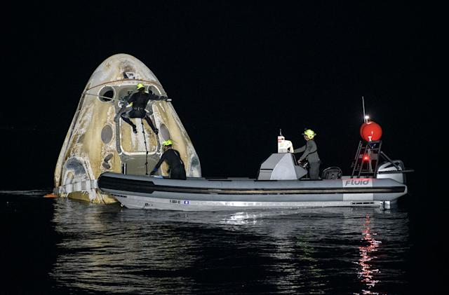 SpaceX Crew-1 mission broke a spacecraft longevity record