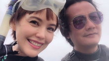 'Best friends forever' Zoe Tay and Chen Hanwei live it up in Okinawa