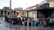 Long-distance rail traffic in Germany halted due to strike
