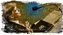 Trump's rhetoric hits his wall