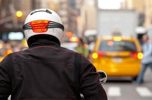 Quirky helmet concept gives new meaning to headlight