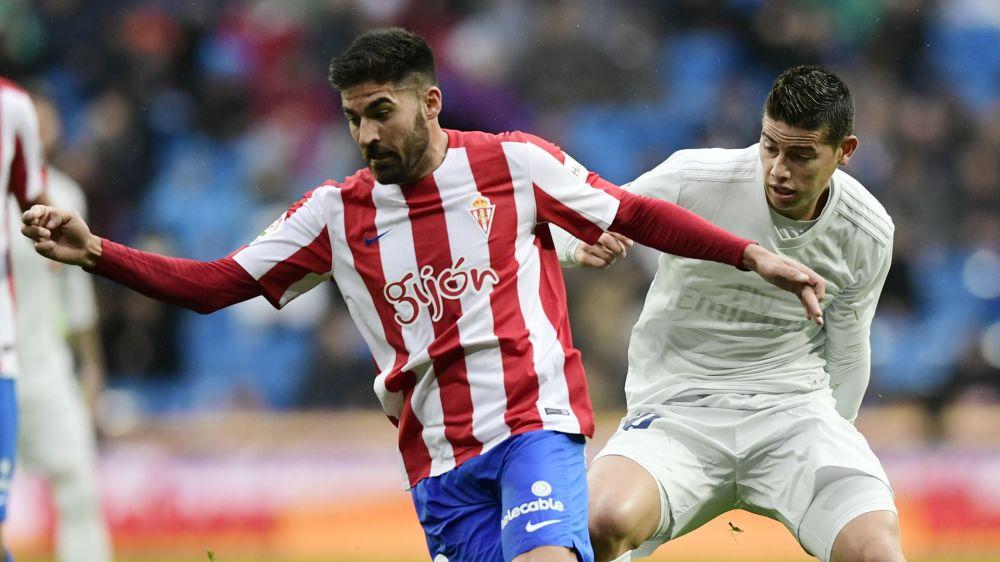 Sporting Gijón x Real Madrid: números, pranchetas e mapas de calor completos